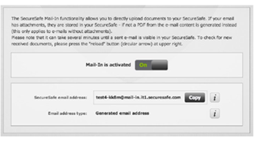 securesafe mail-in
