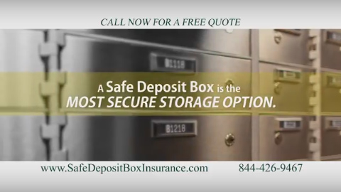 A Safe Deposit Box is the Most Secure Storage Option